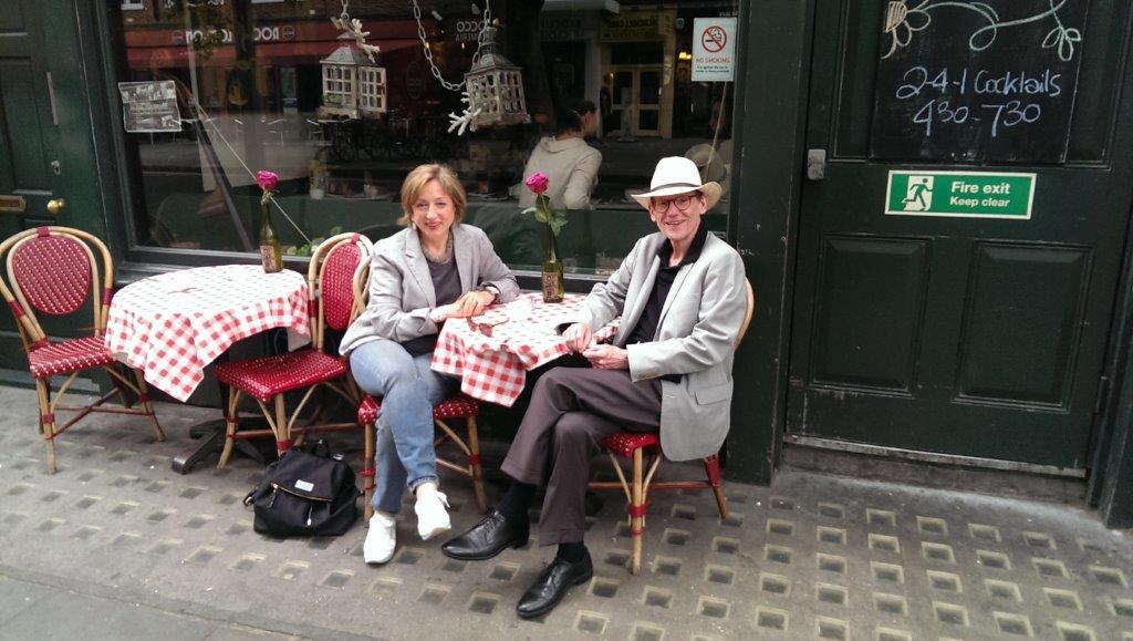 Anne-Marie Fyfe & J. Chester Johnson at Troubadour Cafe