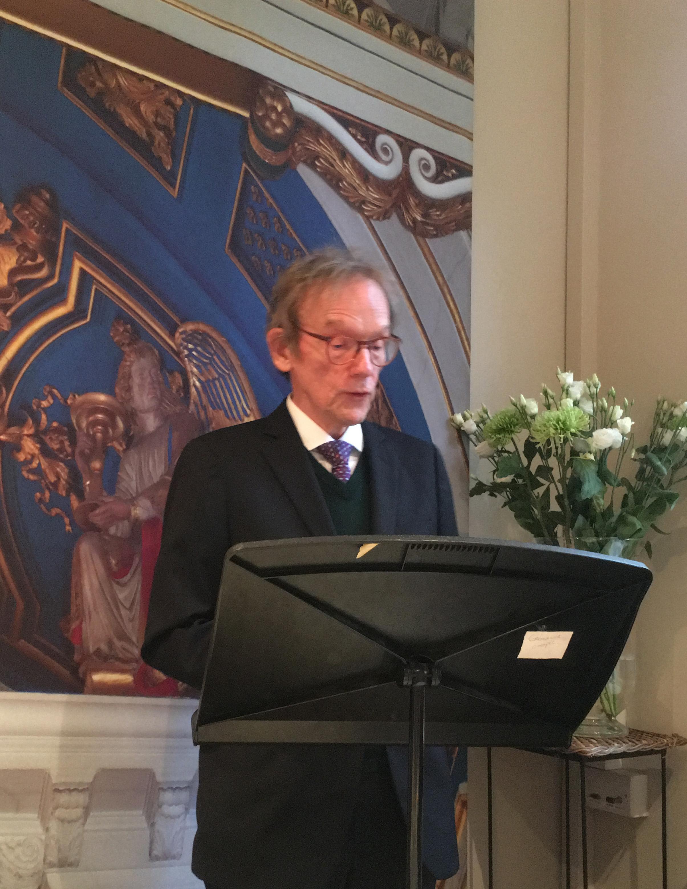 J. Chester Johnson featured speaker at Grosvenor Chapel, London