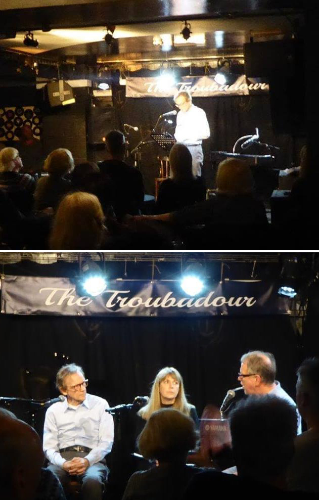 J. Chester Johnson at Troubadour in London