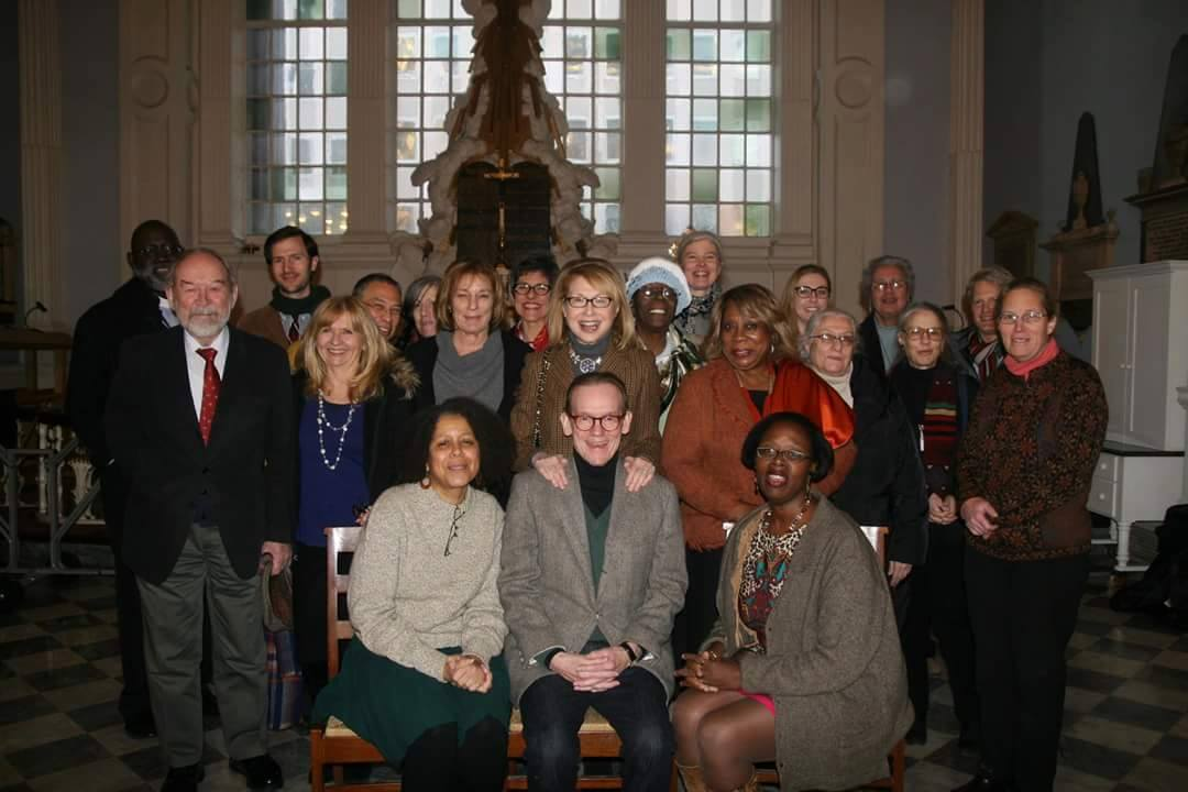 Poets and Readers for the St. Paul's Chapel Poetry Festival